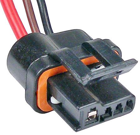 GM Alternator Internal Regulator 3 Wire Connector 86 Thru 90