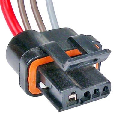 gm alternator internal regulator 4 wire repair pigtail the repair rh repairconnector com gm wiring pigtail connectors gm engine wiring connectors