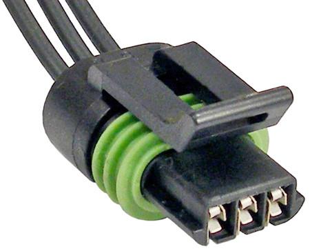 3 Wire Crankshaft And Coolant Temp Sensor Connector - The ... Three Wire Temperature Sensor Diagram on