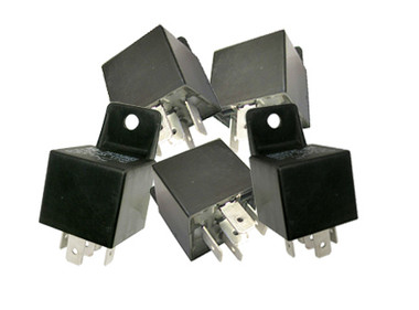 Bosch Style 5 Pin 30 - 40 Amp Relay - 5 Pack