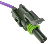 WeatherPack 1 Way Female Tower Connector