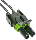 WeatherPack 2 Way Double Male Tower Connector