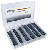 Heat Shrink Tubing Kit Assorted Sizes 54 Pieces With Tray