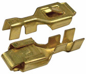 Brass Female Lock Type Tab Connector 5 Pack