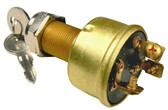 Brass Heavy Duty Ignition Starter Switch Universal With Keys