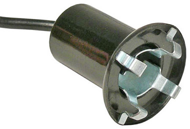 Small License and Instrument Panel Lamp Socket