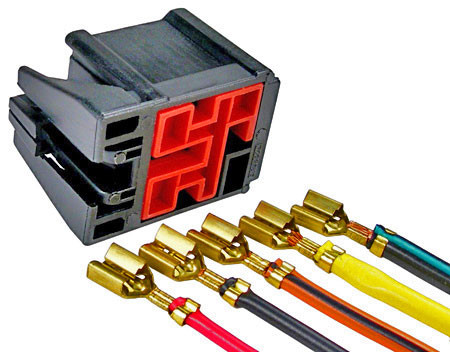 [ZHKZ_3066]  Ford Horn and Blower Relay Harness Repair Connector Kit - The Repair  Connector Store | Ford Wire Harness Repair |  | The Repair Connector Store
