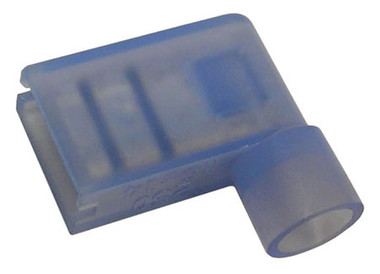 Vinyl Insulated Flag Terminal Blue 16-14 AWG Wire