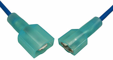 2 Pc Quick Disconnect Set Blue 16-14 AWG Wire Size