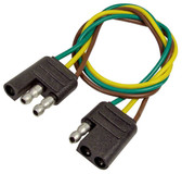3 Way Molded Trailer Wiring Connector