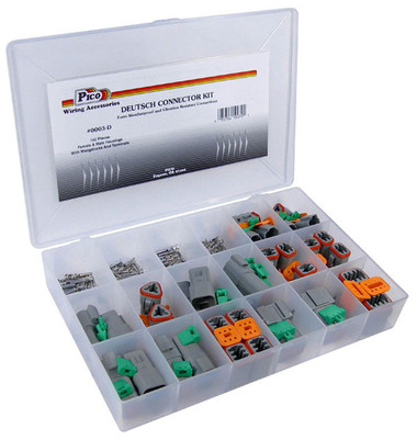 Deustch Connector and Terminal Shop Kit