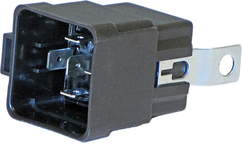 5 Pin 30 To 40 Amp Mini Sealed Change Over Relay With Resistor And Mounting Bracket