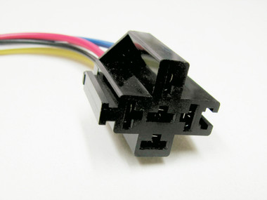 5 Terminal Relay Connector - 10 Inch Leads