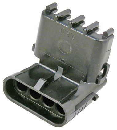WeatherPack 4 Cavity Female Shroud Connector