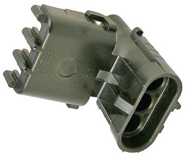 WeatherPack 3 Cavity Female Shroud Connector