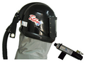 Titan II Supplied Air Respirator Blast Helmet Assembly with Climate Controller