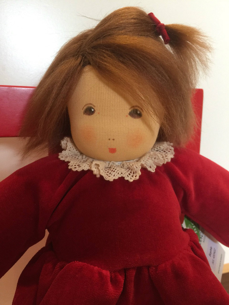Nanchen Doll Emma with Red Dress
