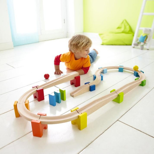HABA Toys - HABA My First Ball Track Large Basic Track