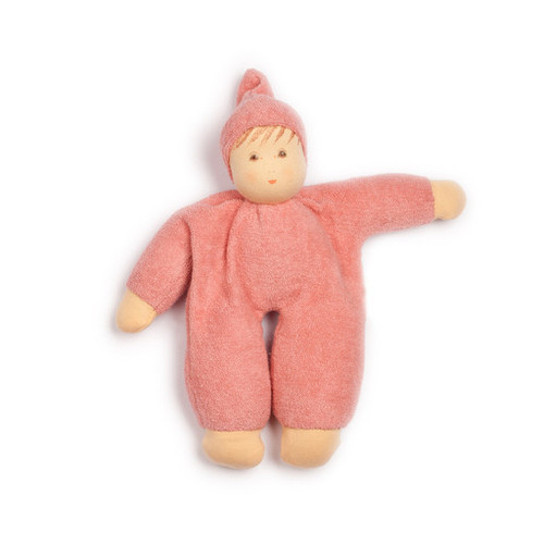Organic Terry Baby Doll - Rose