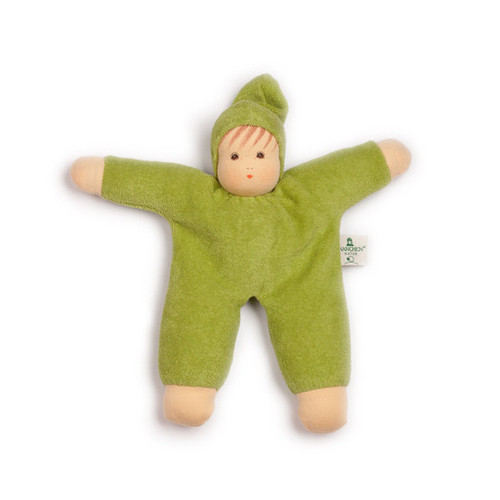 Organic Terry Baby Doll - Green
