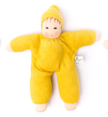 Nanchen Organic Terry Baby Doll - Yellow