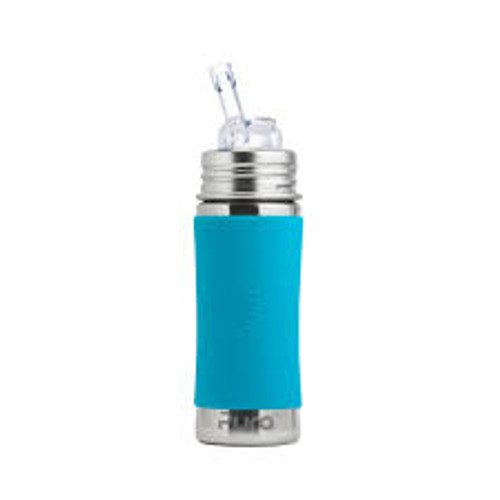 Pura Kiki Straw Bottle - Aqua Sleeve