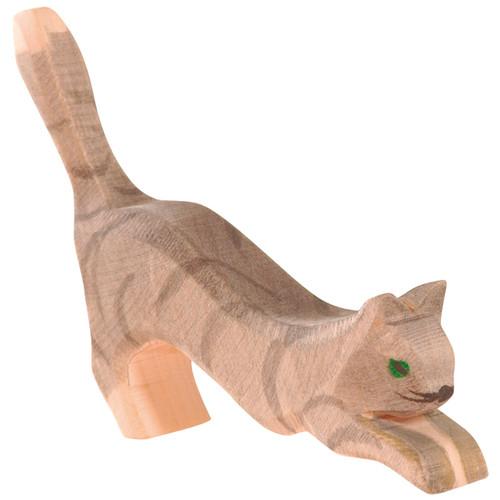 Ostheimer Wooden Cat Jumping