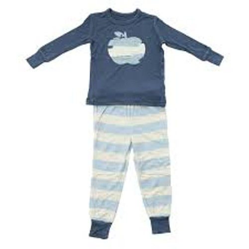 Silkberry Bamboo Pajama - Twilight Apple
