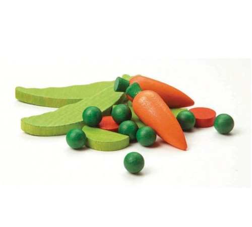 Erzi Wooden Toys - Frozen Vegetables
