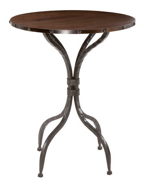 Forest Hill 36 Inch High Hand Forged Iron Bar Table