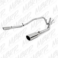 S5126AL - MBRP DUAL REAR EXHAUST 06-08 DODGE RAM 1500 5.7L HEMI