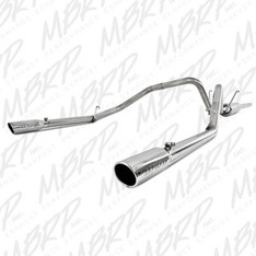 S5126409 - MBRP DUAL REAR STAINLESS EXHAUST 06-08 DODGE RAM 1500