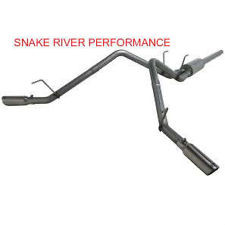 S5144409 - MBRP DUAL SIDE EXIT STAINLESS STEEL EXHAUST 09-15 DODGE RAM 1500 5.7L