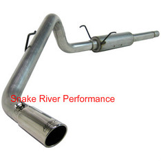S5102AL - MBRP EXHAUST 2003 DODGE RAM 1500 5.7L HEMI CAT BACK SINGLE ALUMINIZED CREW CAB