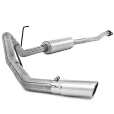 S5210AL - MBRP EXHAUST 2009-2011 FORD F150 4.6L 5.4L CAT BACK SINGLE ALUMINIZED CC/EC