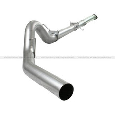 "49-03041NM - AFE ATLAS 4"" ALUMINIZED CAT BACK EXHAUST 11-14 FORD F150 ECOBOOST 3.5L V6 NO MUFFLER"