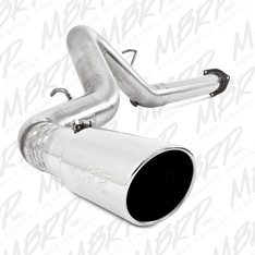 "S6026409 - MBRP 4"" EXHAUST 07-10 CHEVY GMC DURAMAX DIESEL 6.6L FILTER BACK STAINLESS STEEL"
