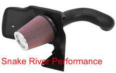 57-3021-1 - K&N COLD AIR INTAKE 99-04 CHEVROLET SILVERADO GMC SIERRA 1500 5.3L 4.8L