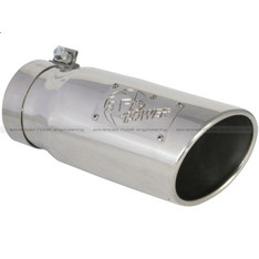 "49-92002-P - AFE 12"" STAINLESS STEEL EXHAUST TIP 4"" INLET 5"" OUTLET"