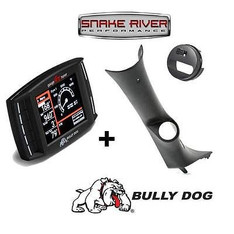40420 33306 30420 - BULLY DOG TRIPLE DOG GT DIESEL W PILLAR MOUNT 08-13 CHEVY GMC SIERRA NO SPEAKER