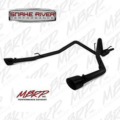 S5146BLK - MBRP EXHAUST 2009-2015 DODGE RAM 1500 5.7L HEMI CAT BACK DUAL SPLIT REAR BLACK