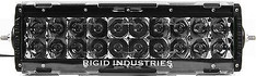 110983 - RIGID INDUSTRIES E-SERIES 10 INCH PROTECTIVE POLYCARBONATE LIGHT COVER SMOKED - 11098