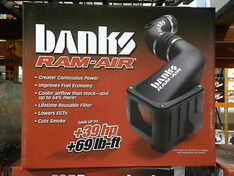 42135-D - BANKS DRY RAM AIR INTAKE 04 05 CHEVY GMC DURAMAX DIESEL LLY 6.6L 2500HD 3500