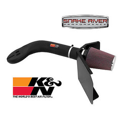 57-1506-2 - K&N PERFORMANCE AIR INTAKE KIT 1993-1998 JEEP GRAND CHEROKEE 5.2L V8