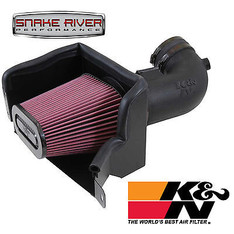 63-3081 - K&N AIRCHARGER PERFORMANCE COLD AIR INTAKE 14-15 CHEVY CORVETTE 6.2L V8 NON CARB