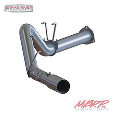 """S6287409 - MBRP 4"""" DPF BACK EXHAUST 2015 FORD F250 F350 6.7L POWERSTROKE DIESEL STAINLESS SINGLE"""
