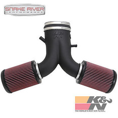 57-1536 - K&N PERFORMANCE COLD AIR INTAKE 2003-2006 DODGE VIPER 8.3L V10