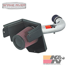 77-1553KP - K&N PERFORMANCE COLD AIR INTAKE 07-11 JEEP WRANGLER 3.8L