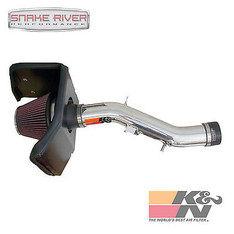 77-9025KP - K&N PERFORMANCE COLD AIR INTAKE 2005-2011 TOYOTA TACOMA 4.0L POLISHED