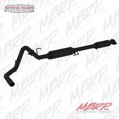 "S5256BLK - MBRP 3"" CAT BACK BLACK EXHAUST FOR 2015 FORD F150 5.0L"